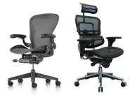 Herman Miller Aeron & Ergohuman Chair
