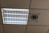 Fluorescent office light